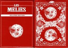 Les Méliés Red Eclipse Playing Cards Poker Size Deck USPCC Custom Limited Sealed