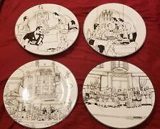Set of 4 Epoch LA RESTAURANT Dinner Plates