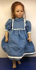 "24� Annette Himstedt American Heartland ""Toni� Doll Redhead W/ Coa & Box"