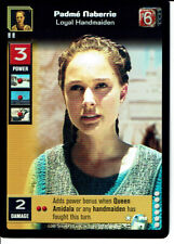 STAR WARS YOUNG JEDI REFLECTIONS SUPER RARE PADME NABERRIE, LOYAL HANDMAIDEN