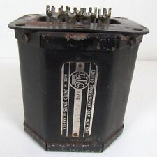 Vintage UTC PA-135 Input Transformer - 500, 200, or 50 Ohm Line to PP Grids