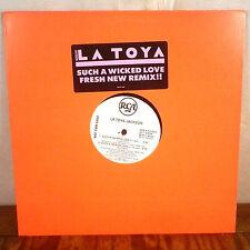 "Latoya Jackson Such a Wicked Love 12"" Promo Maxi Single RCA michael r&b pop M-"