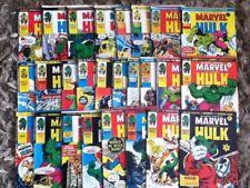 The Mighty World Of Marvel. 1975 Marvel UK Comics. 20 Random Issues. FREE POST.