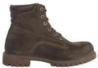 Timberland 15.2cm Básico Botas Hombre Cuero Marrón Zapatos Con Cordones Informal