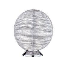 WOFI lámpara de MESA Chill 1 luz cromado Salón Comedor Cocina Pasillo Sala