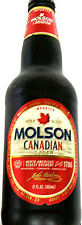 MOLSON IMPORTED CANADIAN LAGER BEER TAPPER - BEER BOTTLE SHAPE