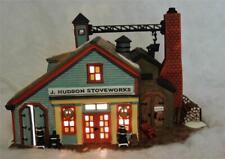 Dept. 56 Heritage New England Village J. Hudson Stoveworks Stove Works-Nib