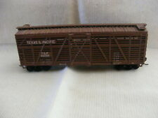 Vintage Ho Scale Texas & Pacific T&P 24099 40' Cattle Car h