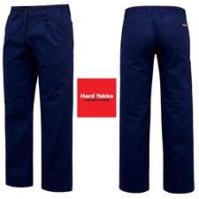 Womens Hard Yakka Drill Pant Pants Tradie Trade Navy Ladies Pockets Construction