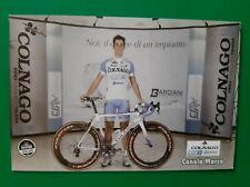 CYCLISME carte cycliste MARCO CANOLA équipe COLNAGO CSF 2012