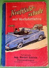 Kraftfahrschule mit Vorfahrtslehre - Verkehrsverl. Remagen um 1956