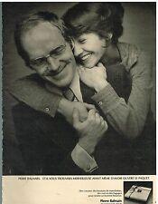 Publicité Advertising 1974 Pret à porter Accessoires Hommes Pierre Balmain
