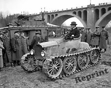 Photograph  WWI US ARMY Ford Track Prototype 1921  8x10
