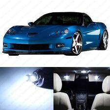 11 x White LED Interior Light Package For 2005 -2013 Chevy Corvette C6 +PRY TOOL