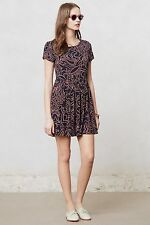 NIP $158 Anthropologie Botanica Swing Dress by Sam & Lavi Made In USA Size 8