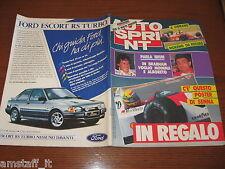 AUTOSPRINT 1988/45=CESARE FIORIO=PORSCHE 944 S2=ALFA ROMEO 75 1.8I.=GERLINGER=