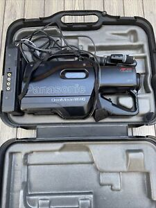 Panasonic AFx8 Omnimovie VHS HQ Camcorder PV-704 Case Light Charger Complete