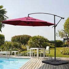 More details for 3m garden, outdoor banana parasol sun shade hanging patio umbrella cantilever