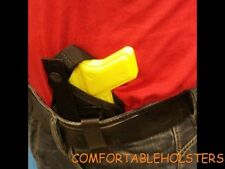 """Concealed GUN Holster, 3.4"""" WALTHER P22 W/LAS, INSIDE PANTS, PISTOL, LAW, 803"""