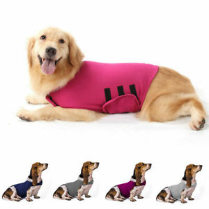 Pet Anti Anxiety Dog Vest Jacket Thunder Shirt Stress Relief Calming Vest Coat