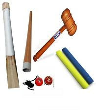Cw Pro4 Set Cricket Tool Knocking Mallet Bat Handle String Ball Grip Applicator