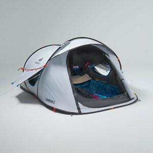 Decathlon - Quechua 2 Second Fresh & Black,Waterproof Camping Tent,2 Person New