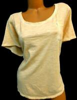 Lane bryant vintage orange women's plus size round neck short sleeve top 22/24