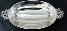 TIFFANY & CO STERLING SILVER WATERMELON FORM SERVING BOWL OR DISH, No Mono
