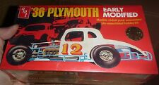 AMT 1936 PLYMOUTH EARLY MODIFIED Model Car Mountain KING KIT FS 1/25 BC