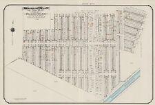 1913 CHARLES E. GOAD, CANADA, EMARD WARD, MONTREAL AQUEDUCT, COPY PLAT ATLAS MAP