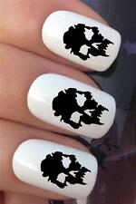 WATER NAIL TRANSFERS GHOUL SKULL FACE HALLOWEEN TATTOO DECALS STICKERS *606