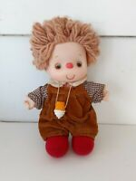 "Rare Ice Cream 8"" Doll 1980 J Shin yarn hair hat Boy Cuordoury vintage"
