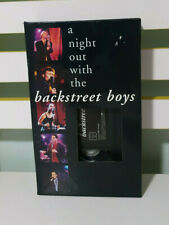 A NIGHT OUT WITH THE BACKSTREET BOYS VIDEO VHS MARCH 28 1998 GERMAN PAL VERSION