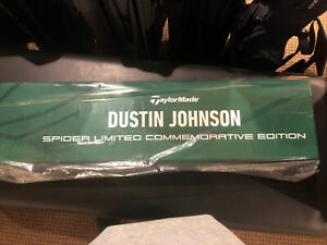 (New Unsealed) Dustin Johnson Spider Putter Limited Commemorative Edition Putter