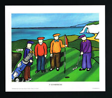 British Open/5th Royal Portrush/Golf/Irish Art Group/Fine Print/Martin Laverty/