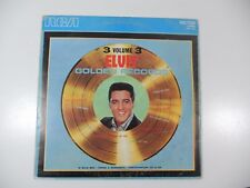 ELVIS GOLDEN RECORD  VOL 3 MADE IN ITALY    LP 33 GIRI DISCO VINILE
