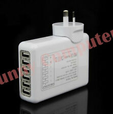 6 Ports USB AC Wall Charger AU Plug Adapter for iPhone 6 Plus 6 iPad Air Pro 2