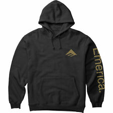 Emerica Pure Combo Mens Hoody - Black All Sizes