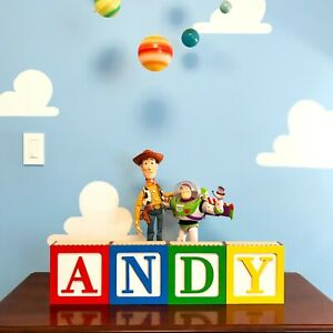Toy Story Inspired Wall stickers up to 10 letters