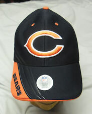 Nfl Team Apparel Chicago Bears Adjustable Football Navy/Orange Hat Cap
