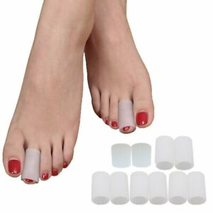 10pcs Silicone Toe Cap Cover Sleeve Protector for Corn Blisters Pain Relief USA