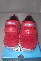 Skechers Infant/Toddler Boys' Skech-Lite Sprinter Step Sneaker, Red Size: 10