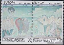Griechenland 1829C-1830C Paar (kompl.Ausg.) postfrisch 1993 Zeitgenössische kuns