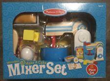 Melissa & Doug Wooden Make A pound cake set, Mixer Set NIB