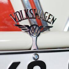 Volkswagen VW License Plate Topper Bug Kafer Samba Bettle Ghia Bus Split Kdf heb