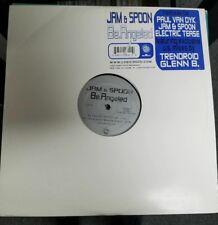 """JAM & SPOON Be.Angeled 2x12"""" OOP early-00's trance Paul Van Dyk Logic 3000"""