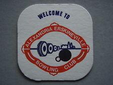 ALEXANDRIA ERSKINEVILLE BOWLING CLUB COASTER