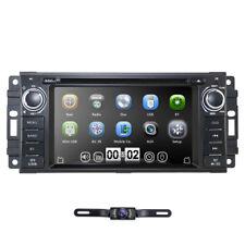 Rear Camera+Map 1Din Stereo Car Radio DVD Player Ipod GPS Nav For Jeep Wrangler