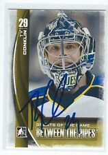 Ty Conklin Signed 2013/14 Between The Pipes Card #149