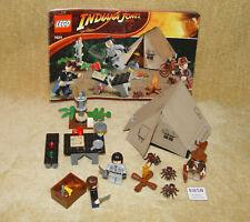 LEGO Sets: Indiana Jones: Crystal Skull: 7624-1 Jungle Duel (2008) 100% w/INSTR